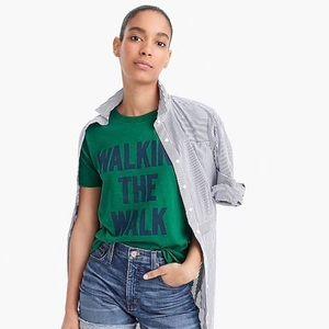 J.Crew Walk The Walk T-shirt xs